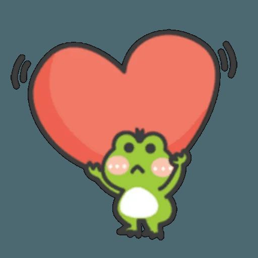 豬與蛙 2 - Sticker 3