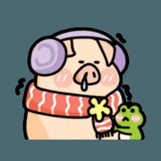 豬與蛙 2 - Sticker 12