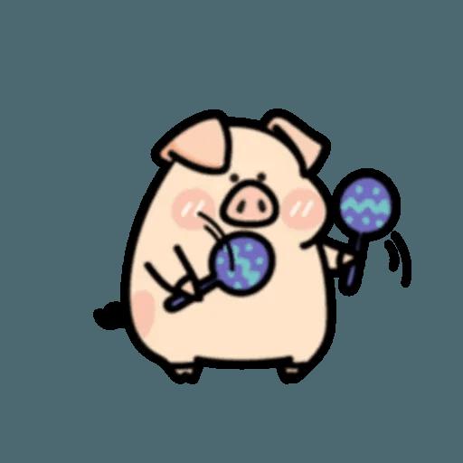 豬與蛙 2 - Sticker 18