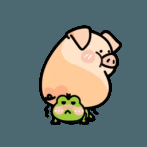 豬與蛙 2 - Sticker 20