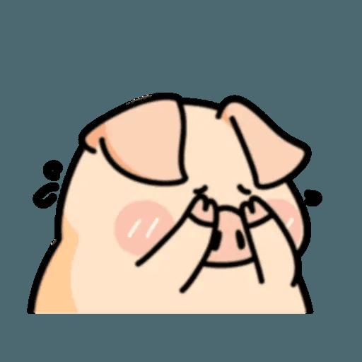 豬與蛙 2 - Sticker 21