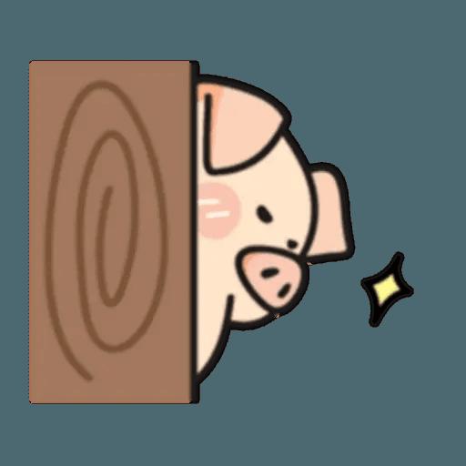 豬與蛙 2 - Sticker 9