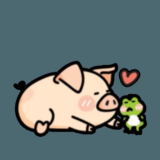 豬與蛙 2 - Sticker 7