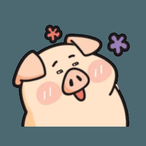 豬與蛙 2 - Sticker 11