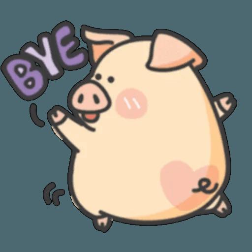 豬與蛙 2 - Sticker 1