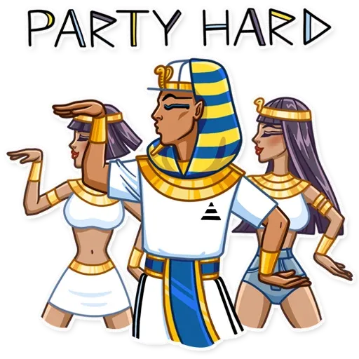 Pharaoh Vadidas - Sticker 12