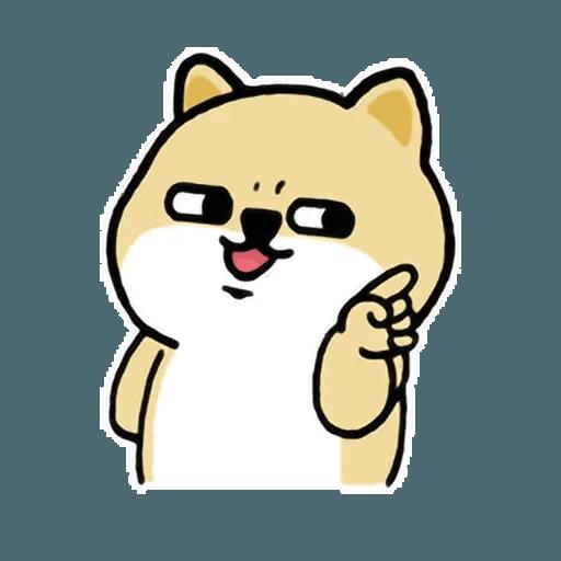 小肥柴7 - Tray Sticker