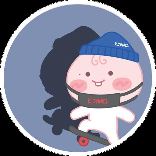 KangDaniel x Kakaofriends - Sticker 6