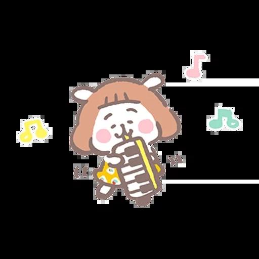 夏芽羊咩咩 (1) - Sticker 2