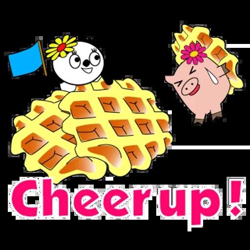 Piggy & Panda 1 - Sticker 17