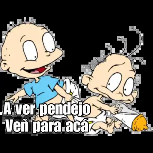 Cartoon & Nick 2 - Sticker 24