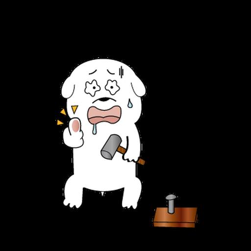 萌萌犬 - Sticker 9