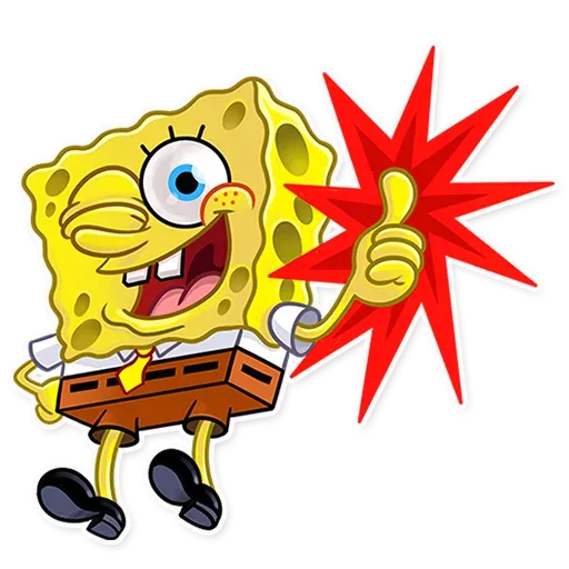 Bob esponja - Sticker 3