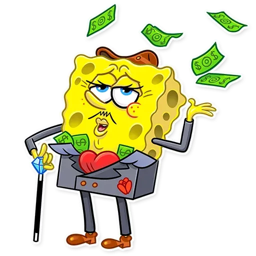 Bob esponja - Sticker 20