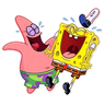 Bob esponja - Tray Sticker