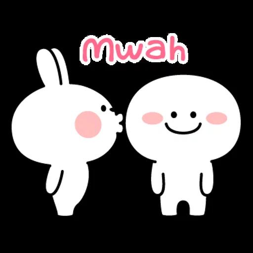 spoilt rabbit simple words - Sticker 8