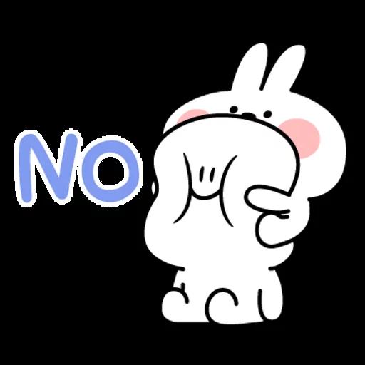 spoilt rabbit simple words - Sticker 4