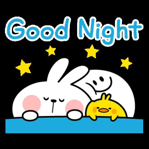 spoilt rabbit simple words - Sticker 26
