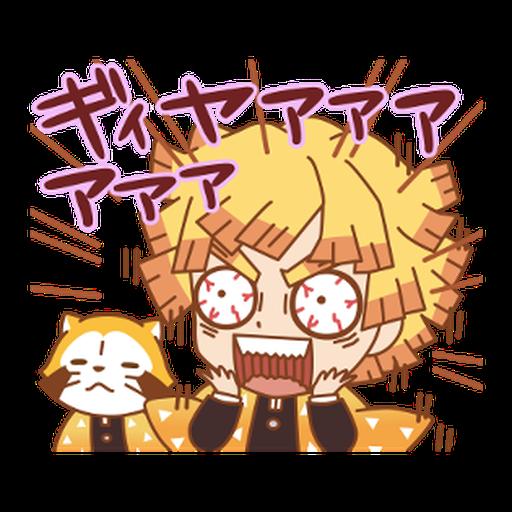 Kimetsu no Yaiba × Rascal #2 - Sticker 16