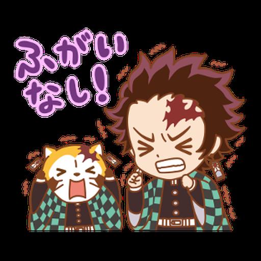 Kimetsu no Yaiba × Rascal #2 - Sticker 6