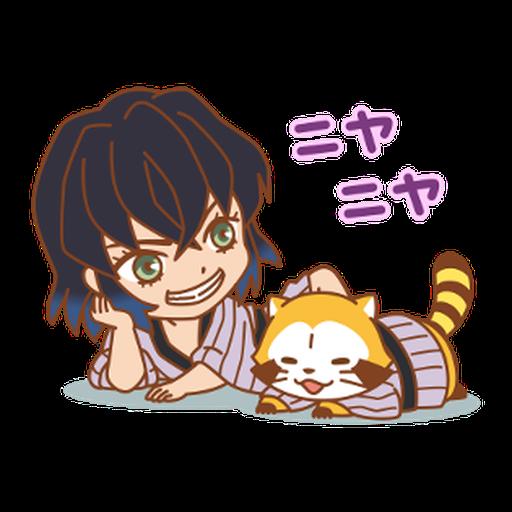 Kimetsu no Yaiba × Rascal #2 - Sticker 9