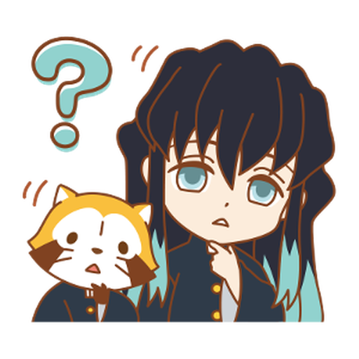 Kimetsu no Yaiba × Rascal #2 - Sticker 5