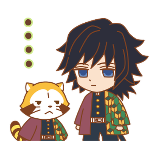 Kimetsu no Yaiba × Rascal #2 - Sticker 3