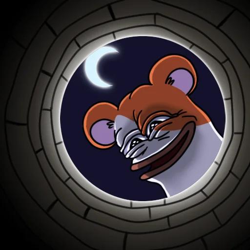 hamsterpepe - Sticker 3