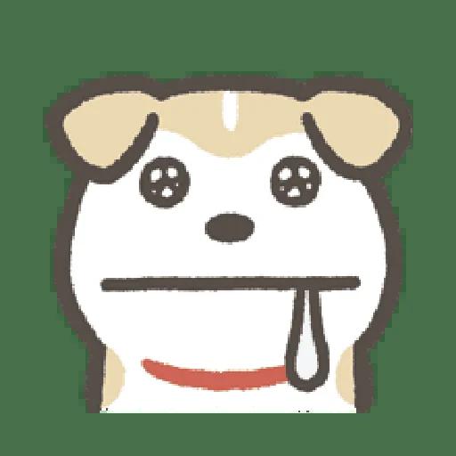 Shibapuppyemoji - Sticker 2