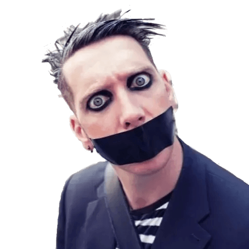 tape face - Sticker 14