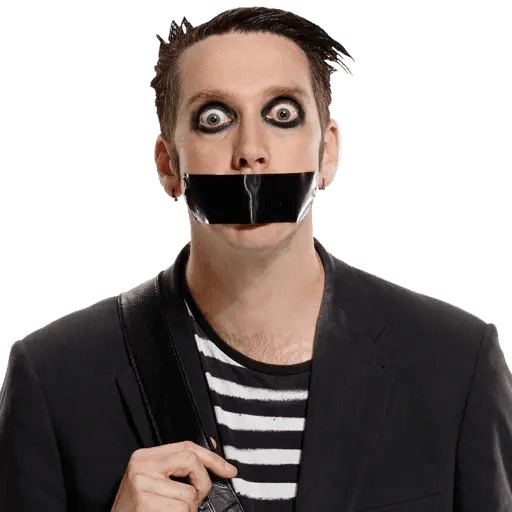tape face - Sticker 6