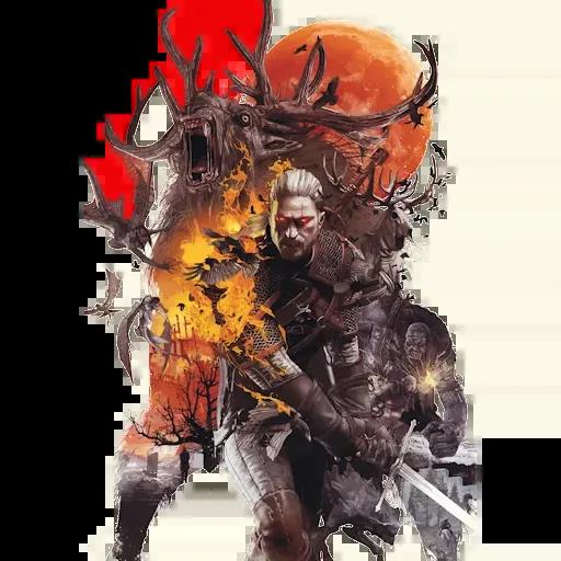 Witcher 3 - Sticker 11