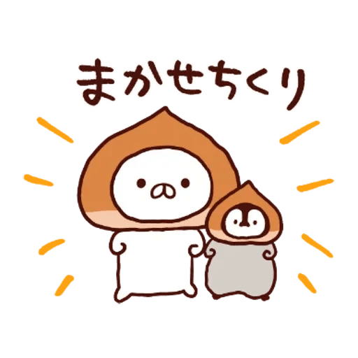 Penguin and Cat : Warm and Cuddy - Sticker 18