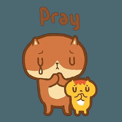 癲噹 DinDong 安慰系列 - Tray Sticker