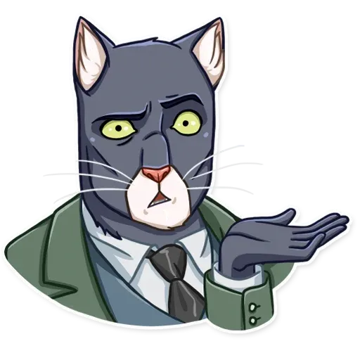 Blacksad - Sticker 15