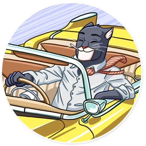 Blacksad - Sticker 20