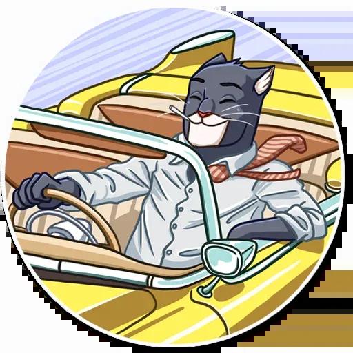 Blacksad - Sticker 20