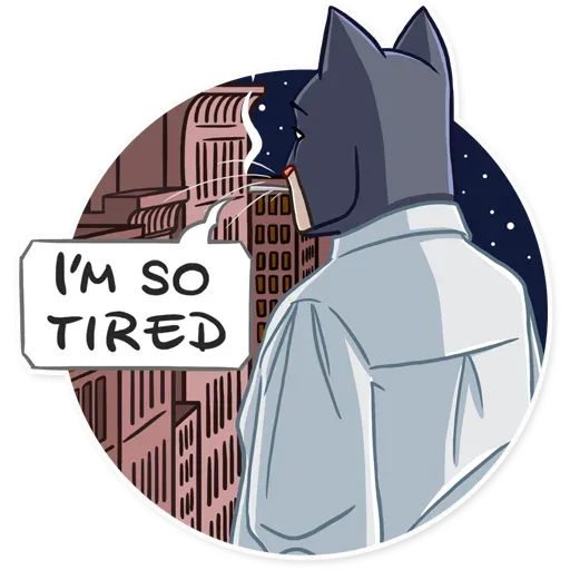 Blacksad - Sticker 29