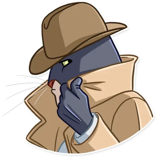 Blacksad - Sticker 24