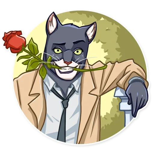 Blacksad - Sticker 12