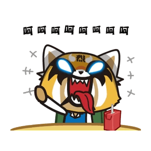 Aggretsuko 01 - Sticker 19