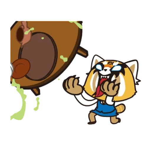 Aggretsuko 01 - Sticker 16