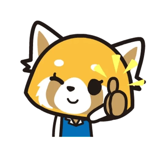Aggretsuko 01 - Sticker 3