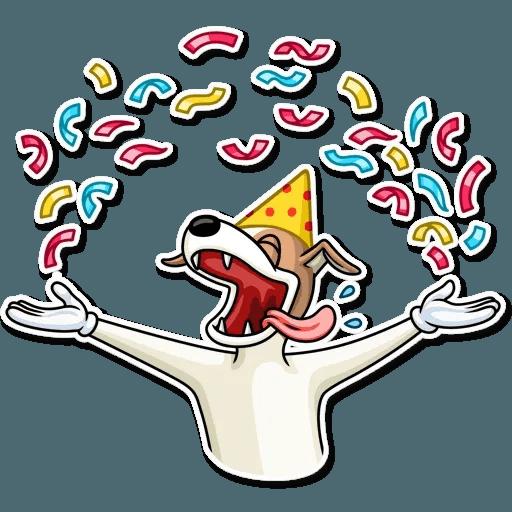 Party Dog - Sticker 15