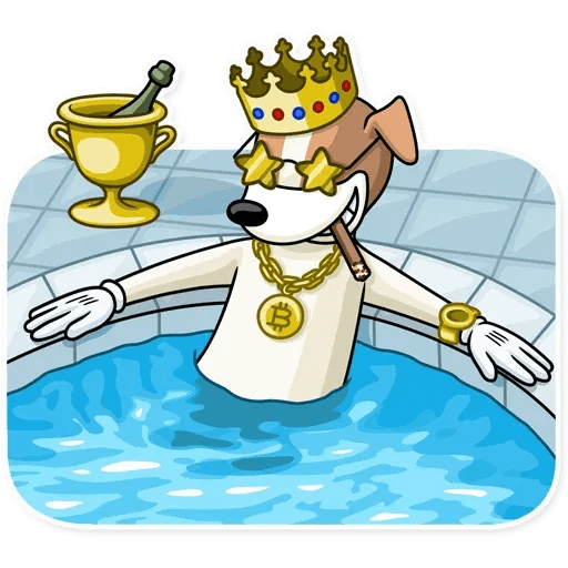 Party Dog - Sticker 2