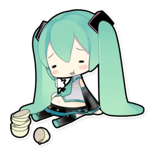Miku - Sticker 14