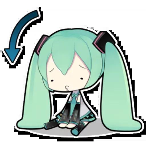 Miku - Sticker 7