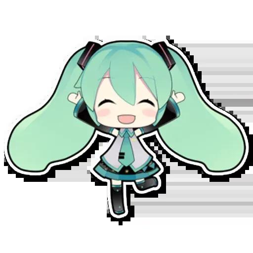 Miku - Sticker 27
