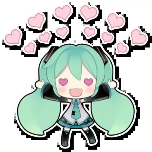 Miku - Sticker 17