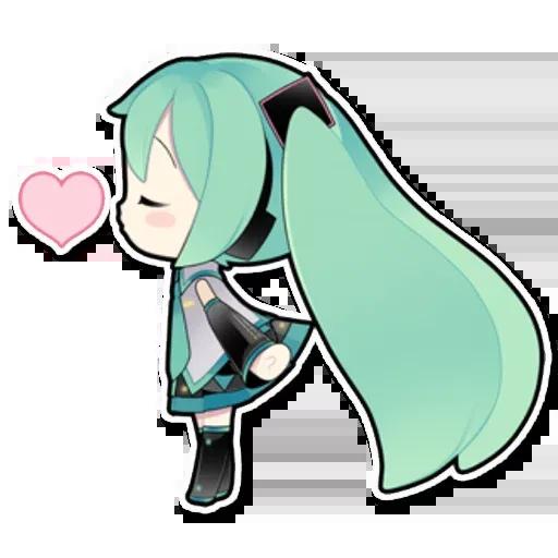 Miku - Sticker 18